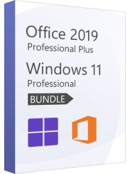 Microsoft Windows 11 Pro + Office 2019 Pro Plus- Package