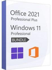 Microsoft Windows 11 Pro + Office 2021 Pro - Package
